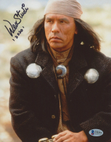 """Wes Studi Signed """"Crazy Horse"""" 8x10 Photo Inscribed """"2020"""" (Beckett COA) at PristineAuction.com"""