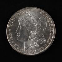 1881-S Morgan Silver Dollar at PristineAuction.com