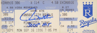 """Paul Molitor Signed Twins Baseball Game Ticket Inscribed """"3,000th Hit"""" (JSA COA) at PristineAuction.com"""