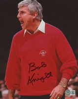 Bob Knight Signed Indiana Hoosiers 8x10 Photo (Beckett COA) at PristineAuction.com