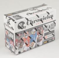 2021 Panini Chronicles Draft Picks Football Mega Box with (12) Packs (See Description) at PristineAuction.com