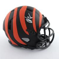 "Chad ""Ochocinco"" Johnson Signed Bengals Eclipse Alternate Speed Mini-Helmet (JSA COA) at PristineAuction.com"