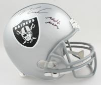 "Maxx Crosby Signed Raiders Full-Size Helmet Inscribed ""Madd Maxx"" (JSA COA) at PristineAuction.com"