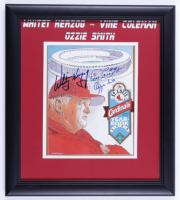 Whitey Herzog, Ozzie Smith, & Vince Coleman Signed Cardinals 16x18.5 Custom Framed Print Display (JSA COA) (See Description) at PristineAuction.com