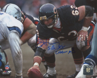 """Jay Hilgenberg Signed Bears 8x10 Photo Inscribed """"SB XX Champs"""" (Schwartz Sports COA) at PristineAuction.com"""