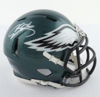 Donovan McNabb Signed Eagles Speed Mini-Helmet (Beckett COA) at PristineAuction.com
