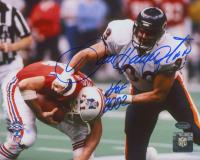 "Dan Hampton Signed Bears 8x10 Photo Inscribed ""HOF 2002"" (Schwartz Sports COA) at PristineAuction.com"