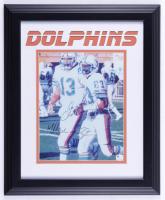 Dan Marino & Mark Clayton Signed Dolphins 14x17 Custom Framed Photo (JSA COA) (See Description) at PristineAuction.com