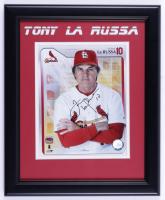 Tony La Russa Signed Cardinals 14x17 Custom Framed Photo Display (JSA COA) (See Description) at PristineAuction.com