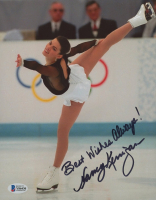 """Nancy Kerrigan Signed 8x10 Photo Inscribed """"Best Wishes Always"""" (Beckett COA) at PristineAuction.com"""