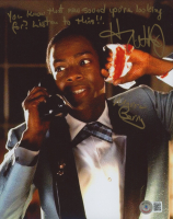 """Harry Waters Jr. Signed """"Back to the Future"""" 8x10 Photo with Multiple Inscriptions (Beckett COA) at PristineAuction.com"""