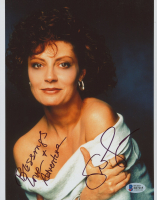 """Susan Sarandon Signed 8x10 Photo Inscribed """"Blessings Love + Adventure"""" (Beckett COA) at PristineAuction.com"""