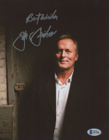 """John Grisham Signed 8x10 Photo inscribed """"Best Wishes"""" (Beckett COA) at PristineAuction.com"""