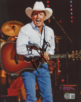 """George Strait Signed 8x10 Photo Inscribed """"Love"""" (Beckett COA) at PristineAuction.com"""