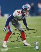 Jason Sehorn Signed Giants 8x10 Photo (Beckett COA) at PristineAuction.com
