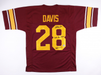 "Anthony Davis Signed Jersey Inscribed ""Notre Dame Killer"" & Fight On!!"" (Pro Player Hologram) at PristineAuction.com"