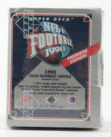 1991 Upper Deck Football Premiere Edition Box of (200) Cards at PristineAuction.com