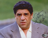 """Vincent Pastore Signed """"The Sopranos"""" 8x10 Photo Inscribed """"Big Puss"""" (Beckett COA) at PristineAuction.com"""