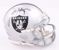 Bo Jackson Signed Raiders Speed Mini Helmet (Beckett COA) at PristineAuction.com