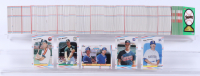 1988 Fleer Complete Set of (660) Baseball Cards with #378 Edgar Martinez RC, #441 Ken Caminiti RC, #539 Tom Glavine RC, #641 Mark Grace RC / Darrin Jackson, #286 Mark McGwire at PristineAuction.com