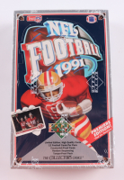 1991 Upper Deck Low Series Football Wax Box with (36) Packs (See Description) at PristineAuction.com