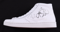 Larry Bird Signed Converse All-Star Hightop Shoe (PSA COA) at PristineAuction.com