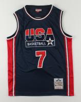 Larry Bird Signed USA Basketball Jersey (PSA COA) at PristineAuction.com