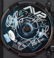 """Alec Gillis, Tom Woodruff Jr & Ian Whyte Signed """"Alien vs Predator"""" DVD Inscribed """"Alien"""" and """"SP/FF"""" (JSA COA) at PristineAuction.com"""