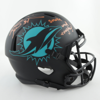 """Ricky Williams Signed Dolphins Full-Size Eclipse Alternate Speed Helmet Inscribed """"Smoke Weed Everyday!"""" (JSA COA) (See Description) at PristineAuction.com"""