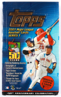 2001 Topps Series 1 Baseball Unopened Hobby Box of (36) Packs at PristineAuction.com
