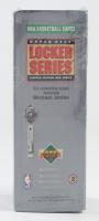 1991 Upper Deck NBA Michael Jordan Locker Series 2 Box with (7) Packs (See Description) at PristineAuction.com