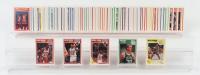 Complete Set of (168) 1989-90 Fleer Basketball Cards with #21 Michael Jordan, #8 Larry Bird, #49 Dennis Rodman, #23 Scottie Pippen, #56 Mitch Richmond RC at PristineAuction.com