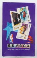 1991-92 Skybox Basketball Hobby Box with (36) Packs at PristineAuction.com