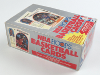 1989-90 NBA Hoops Basketball Card Box with (36) Wax Packs at PristineAuction.com