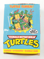 1989 Topps Teenage Mutant Ninja Turtles Wax Box 1989 Topps (See Description) at PristineAuction.com