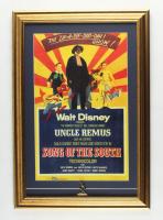 "Walt Disney's ""The Zip-a-Dee-Doo-Dah Show"" 15.5x22.5 Custom Framed Print Display with Brer Rabbit Pin at PristineAuction.com"