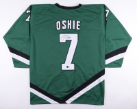 T. J. Oshie Signed Jersey (Beckett COA) at PristineAuction.com