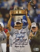 "Tony Dungy Signed Colts 8x10 Photo Inscribed ""God Bless"" & ""SB XLI Champs"" (Beckett COA) at PristineAuction.com"