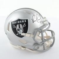 Bill Romanowski Signed Raiders Speed Mini Helmet (Beckett COA) at PristineAuction.com