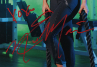 "Eva Marie Signed 13.5x16.5 Framed Photo Inscribed ""XOXO"" (PSA Hologram) at PristineAuction.com"