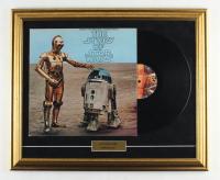"Vintage 1977 ""Star Wars"" 18.5x22.5 Custom Framed Vinyl Soundtrack Record Album Display at PristineAuction.com"