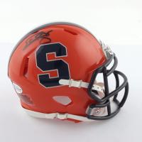 Donovan McNabb Signed Syracuse Orange Speed Mini Helmet (Beckett COA) at PristineAuction.com