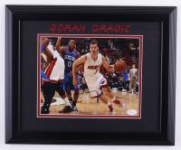 Goran Dragic Signed Heat 13.5x16.5 Framed Photo (JSA COA) at PristineAuction.com