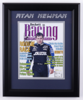 Ryan Newman Signed 13.5x16.5 Framed Photo (JSA COA) at PristineAuction.com