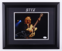 Tommy Shaw Signed 13.5x16.5 Framed Photo (JSA COA) at PristineAuction.com