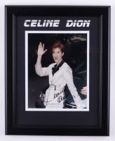 Celine Dion Signed 13.5x16.5 Framed Photo (JSA COA) at PristineAuction.com