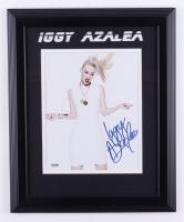 Iggy Azalea Signed 13.5x16.5 Framed Photo (JSA COA) at PristineAuction.com