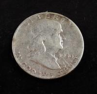 1950 Ben Franklin Half Dollar at PristineAuction.com