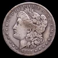 1885-S Morgan Silver Dollar at PristineAuction.com