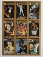 Uncut Sheet of (9) 1991 Diamond Sports Memorabilia Cards with #2 Cal Ripken Jr., #4 Muhammad Ali, #7 Lee Trevino at PristineAuction.com